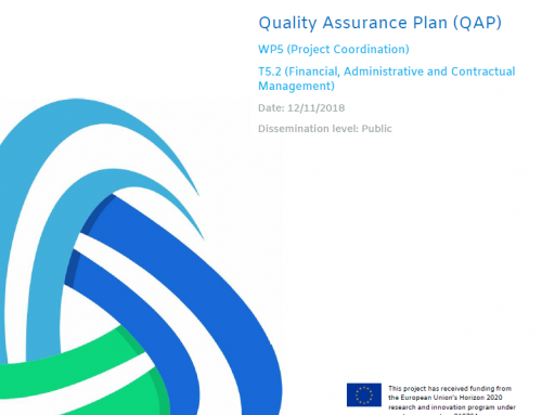 Deliverable D5.1 TRUST_Quality Assurance Plan