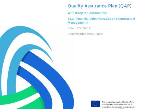 Deliverable D5.1 TRUST_Quality Assurance Plan